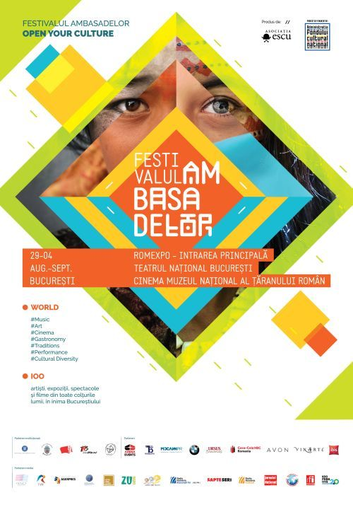 Afis Festivalul Ambasadelor