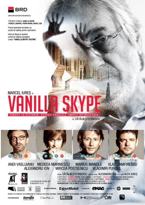 Turneu Vanilla Skype - poster
