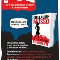 """Lansare de carte  """"Fata din Brooklyn"""", de Giullaume MUSSO"""